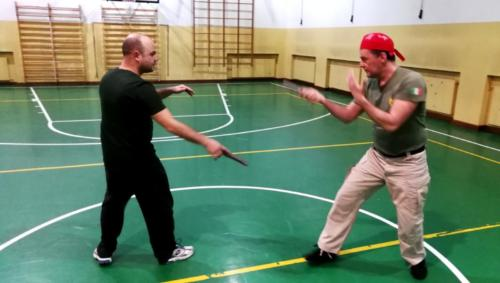 Allenamento Knife Fencing 2018-01-09 22.05.53