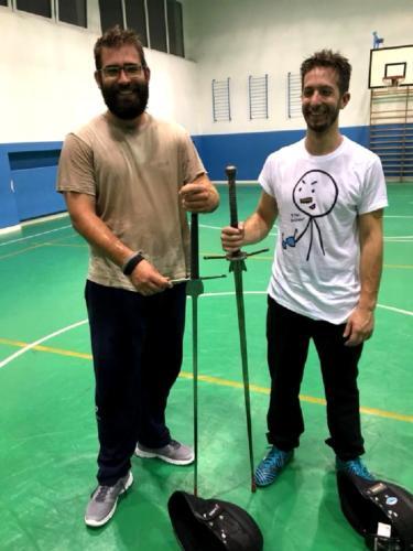 Accademia Fabio Scolari Allenamento Scherma Storica Verona 2018-05-16