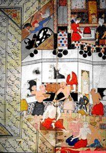Bagno turco, 1400