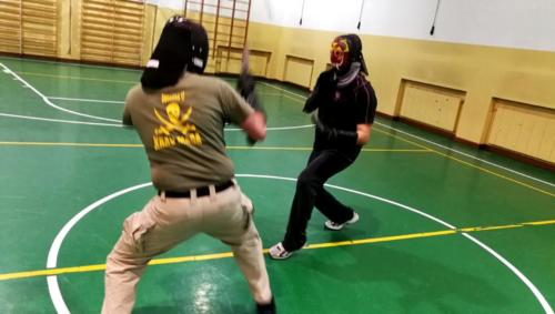 Allenamento Knife Fencing 2018-01-09 22.03.27
