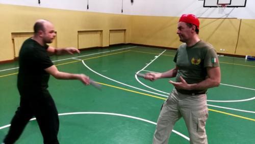 Allenamento Knife Fencing 2018-01-09 22.18.23