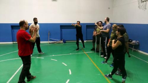 Accademia Fabio Scolari Allenamento Scherma Storica Verona 2018-12-10 22.11.56