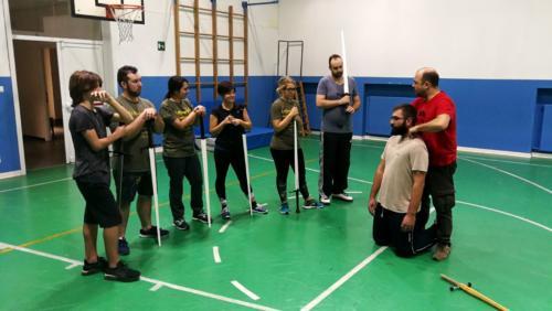 Accademia Fabio Scolari Allenamento Scherma Storica Verona 2018-12-10 22.24.25