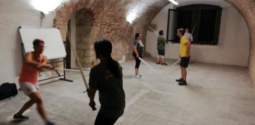 Allenamento Scherma Storica Verona 24-07-2019