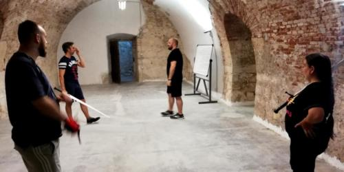 Accademia Fabio Scolari Allenamento Scherma Storica Verona 2019-07-31 21.59.10
