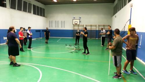 Accademia Fabio Scolari allenamento Scherma Storica Verona 2020-09-23 21.33.29