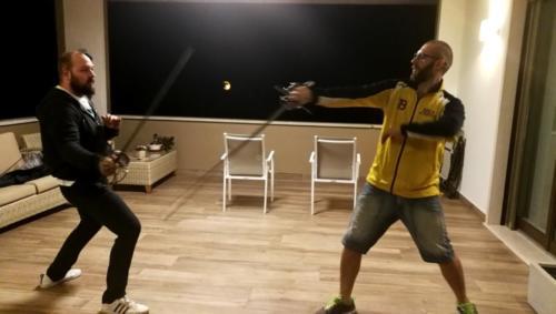 Accademia Fabio Scolari Allenamento Scherma Storica Verona 2019-09-27 21.50.58