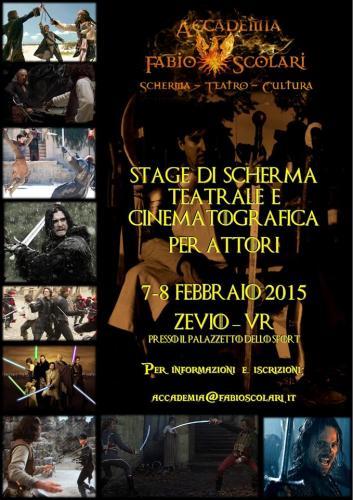 Stage scherma artistica x attori 2015 - 001